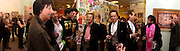 Jeff Beck,? Rouvis Sakis, John Hurt and Paul Golding and Robin Dutt in pink scarf<br /> Inspirational Times, rock Art from Beat to Punk via Psychedelia. Sotheby's. Olympia. 6 January 2002. © Copyright Photograph by Dafydd Jones 66 Stockwell Park Rd. London SW9 0DA Tel 020 7733 0108 www.dafjones.com