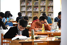 China - Students Study Hard During Holidays - 07 Oct 2016