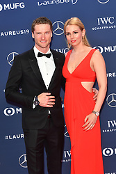 February 18, 2019 - Monaco, Monaco - Maro Engel arriving at the 2019 Laureus World Sports Awards on February 18, 2019 in Monaco  (Credit Image: © Famous/Ace Pictures via ZUMA Press)