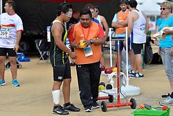 04/08/2017; Cruz Lopez, Jose Eduardo, F11, MEX at 2017 World Para Athletics Junior Championships, Nottwil, Switzerland
