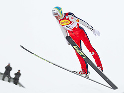 16.12.2011, Casino Arena, Seefeld, AUT, FIS Nordische Kombination, Ski Springen Team HS 109, im Bild Casper Beriot (SLO) // Casper Beriot of Slovenia during Ski jumping the team competition at FIS Nordic Combined World Cup in Sefeld, Austria on 20111211. EXPA Pictures © 2011, PhotoCredit: EXPA/ P.Rinderer