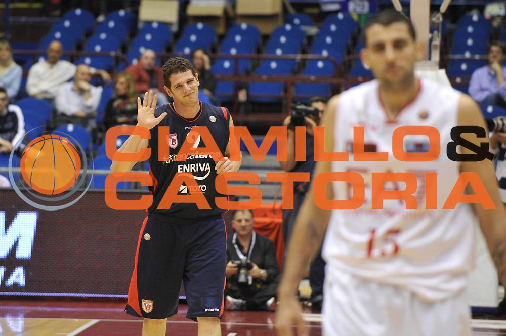 DESCRIZIONE : Milano Lega A 2011-12 EA7 Emporio Armani Milano Bancatercas Teramo <br /> GIOCATORE : valerio amoroso<br /> CATEGORIA :  esultanza<br /> SQUADRA : EA7 Emporio Armani Milano Bancatercas Teramo <br /> EVENTO : Campionato Lega A 2011-2012<br /> GARA : EA7 Emporio Armani Milano Bancatercas Teramo<br /> DATA : 29/04/2012<br /> SPORT : Pallacanestro<br /> AUTORE : Agenzia Ciamillo-Castoria/M.Gregolin<br /> Galleria : Lega Basket A 2011-2012<br /> Fotonotizia :  Milano Lega A 2011-12 EA7 Emporio Armani Milano Bancatercas Teramo <br /> Predefinita :