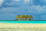 Rangiroa atoll, Tumotu islands, French Polynesia.