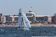 2013 WC Nacra 17 | Practice Race | 21 July
