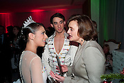 BEGONA CAO; ESTEBAN BERLANGA; CHERIE BLAIR, English National Ballet launches its Christmas season with a partyu before s performance of The Nutcracker at the Coliseum.  St. Martin's Lane Hotel.  London. 16 December 2009 *** Local Caption *** -DO NOT ARCHIVE-© Copyright Photograph by Dafydd Jones. 248 Clapham Rd. London SW9 0PZ. Tel 0207 820 0771. www.dafjones.com.<br /> BEGONA CAO; ESTEBAN BERLANGA; CHERIE BLAIR, English National Ballet launches its Christmas season with a partyu before s performance of The Nutcracker at the Coliseum.  St. Martin's Lane Hotel.  London. 16 December 2009
