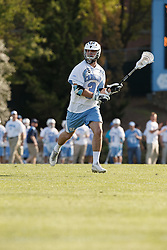 CHAPEL HILL, NC - APRIL 11: Brett Bedard #3 of the North Carolina Tar Heels plays against the Syracuse Orange on April 11, 2015 at Fetzer Field in Chapel Hill, North Carolina. North Carolina won 17-15. (Photo by Peyton Williams/US Lacrosse/Getty Images) *** Local Caption *** Brett Bedard