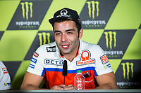 Danilo Petrucci of Italy and Osto Pramac Raciong Team during the press conference for the MotoGP of Catalunya at Circuit de Catalunya on June 10, 2017 in Montmelo, Spain.(ALTERPHOTOS/Rodrigo Jimenez)