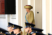 Prinsjesdag 2007 in The Hague. <br /> <br /> On the Photo: Queen Beatrix leving the Palace