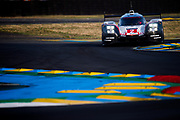 June 13-18, 2017. 24 hours of Le Mans. 2 Porsche Team, Brendon Hartley, Timo Bernhard, Earl Bamber, Porsche 919 Hybrid, LMP1