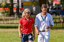 KRAJEWSKI Julia (Freundin), WAHLER Christoph (GER)<br /> Luhmühlen - LONGINES FEI Eventing European Championships 2019<br /> Impressionen Zieleinlauf<br /> Geländeritt CCI 4*<br /> Cross country CH-EU-CCI4*-L<br /> 31. August 2019<br /> © www.sportfotos-lafrentz.de/Tanja Becker