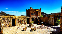 The cafe at the top of the Tizi N'Tazezert pass in the Atlas Mountains, Morocco - altitude 2,300 meters<br /> <br /> (c) Andrew Wilson | Edinburgh Elite media