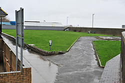 © Licensed to London News Pictures. 05/03/2017<br /> PARK AREA NEXT TO THE BACK OF SHEERNESS SWIMMIMG POOL.<br /> Police have sealed off the park from the Broadway and the seafront down to the sea.<br />  The body of a baby has been found on small piece of park land at the back of Sheerness Swimmimg Pool near the Broadway, Sheerness next to St Henry and St Elizabeth Church.<br /> Photo credit :Grant Falvey/LNP