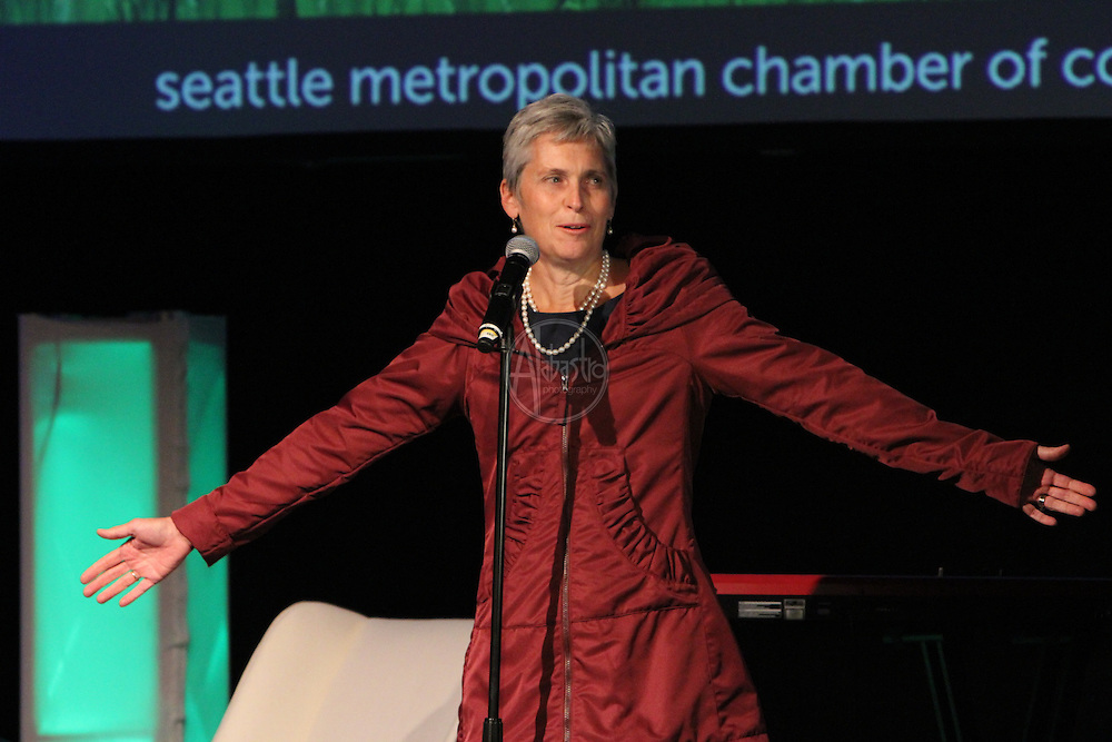 "Seattle Metropolitan Chamber of Commerce Annual Meeting 2011.  ""Innovation In Our Backyard"""