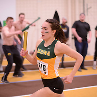 Kaila Neigum in action during the 2018 Canada West Track & Field Championship on February  23 at James Daly Fieldhouse. Credit: Arthur Ward/Arthur Images
