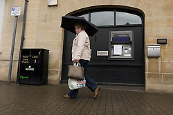 File Pictures of an out of order NatWest cash machine in  town of Olney, Buckinghamshire, England. NatWest and RBS customers accounts were Frozen on Monday December 2nd. Leaving customers without cash. Picture date Thursday, 21st June 2012. Picture by Andrew Parsons / i-Images