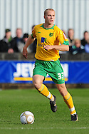 Bristol - Saturday November 7th, 2009: Jens Berthel-Askou of Norwich City during the FA Cup 1st round match at Paulton. (Pic by Alex Broadway/Focus Images)..