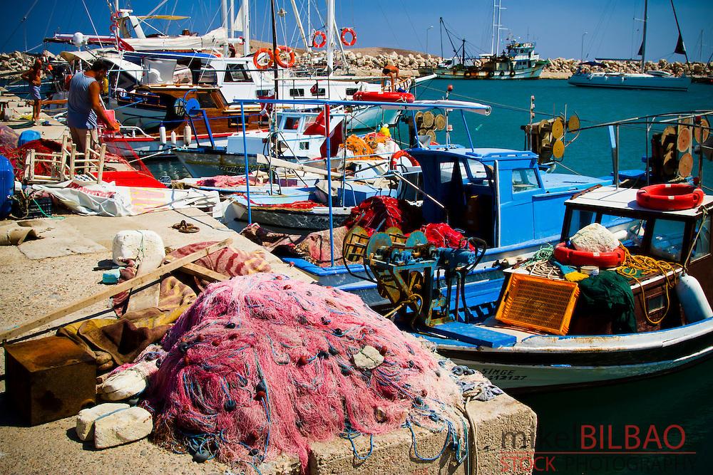 Harbour. Palamutbuku village. Datca peninsula, Mugla province, Anatolia, Turkey.