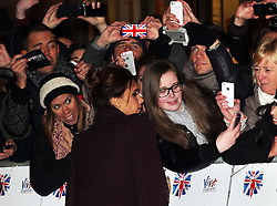 Victoria Beckham  at the opening of the Viva Forever musical in London, Tuesday, 11th December 2012.  Photo by: Stephen Lock / i-Images