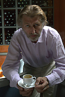Chef Pierre Gagnaire in  his Restaurant