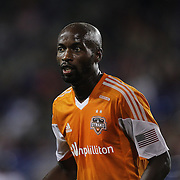 DaMarcus Beasley, Houston Dynamo, in action during the New York Red Bulls Vs Houston Dynamo, Major League Soccer regular season match at Red Bull Arena, Harrison, New Jersey. USA. 4th October 2014. Photo Tim Clayton