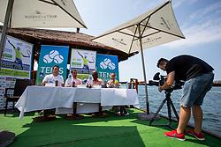 Press conference of ATP Challenger Zavarovalnica Sava Slovenia Open 2018, on August 6, 2018 in Sports centre, Portoroz/Portorose, Slovenia. Photo by Urban Urbanc / Sportida