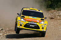 MOTORSPORT - WRC 2011 - ACROPOLIS RALLY - LOUTRAKI 16 TO 19/06/2011 - PHOTO : BASTIEN BAUDIN / DPPI - <br /> 15 HENNING SOLBERG (NOR) / ILKA MINOR (AUT) - FORD FIESTA RS WRC - M-SPORT STOBART FORD WORLD RALLY TEAM - ACTION