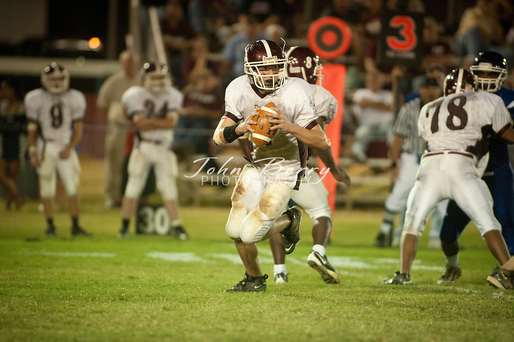 September/24/10:  MCHS Varsity Football vs Luray Bulldogs.  Madison defeats Luray 55-14.  From MCHSAthletics:  The Varsity Football team hosted the Luray Bulldogs tonight and dominated the action in a 55-14 win. The Mountaineers had 6 players score on the night starting with the opening kickoff which Travis Warren returned 90 yards. Dustin Farmer was 7-12 passing for 170 yards and 3 touchdowns. Ralph Yates rushed 8 times for 62 yards and caught 2 passes for 91 yards and 2 touchdowns. Maurice Gentry ran 13 times for 41 yards and a touchdown and L.J. Ward had 2 carries for 64 yards and a touchdown. Farmer also rushed 4 times for 5 yards and 2 scores. Andrew Alexander had 2 receptions for 54 yards and Rashad Bolden had 1 for 6 yards and a score. Defensively, Bradley Meadows led the way with 12 tackles. J.P Utz and Terez Terrell both had 8 tackles each. Warren, Alexander and Joshua Lillard all intercepted a pass as well.