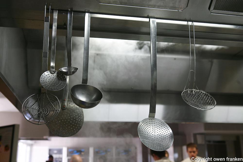 Restaurant Bras, Laguiole, in the Aubrac region, France