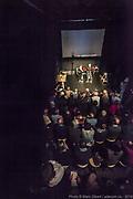 Le Bloke de North Hatley – Timothy Gosley (Victoria) - Créations dans l'oeuf - 14e Festival de Casteliers 2019, Marionnettes pour adultes et enfants. -  Maison internationale des arts de la marionnette (MIAM)  / Montréal / Canada / 2019-03-10, © Photo Marc Gibert / adecom.ca Texte : Timothy Gosley<br /> Mise en Scène : Francis Monty<br /> Interprétation : Alice Guéricolas-Gagné et Timothy Gosley<br /> Marionnettes : Timothy Gosley