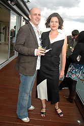 PHIL VAUGHAN and VIOLA SEKULARAC at a party to celebrate the publication of 'All That Glitters' by Pearl Lowe held at the May Fair Hotel, London on 8th July 2007.<br /><br />NON EXCLUSIVE - WORLD RIGHTS