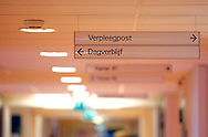The Hague. Hospital. MCH. Medisch Centrum Haaglanden. Signs..Photo: Gerrit de Heus