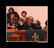Rev. Joseph Lowery preaching at Cascade United Methodist Church