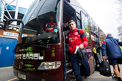 Frank Fielding of Bristol City arrives on the coach - Rogan/JMP - 18/11/2017 - Hillsborough Stadium - Sheffield, England - Sheffield Wednesday v Bristol City - Sky Bet Championship.