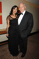 Author POLLY SAMSON and musician DAVID GILMOUR at the 2007 Costa Book Awards held at The Intercontinental Hotel, One Hamilton Place, London W1 on 22nd January 2008.<br />
