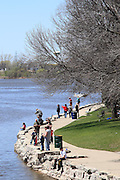 Images from Voyager Park in De Pere Wisconsin from May 10 2014