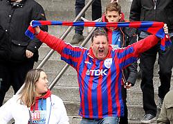 Crystal Palace fans arrive at Wembley - Mandatory by-line: Robbie Stephenson/JMP - 24/04/2016 - FOOTBALL - Wembley Stadium - London, England - Crystal Palace v Watford - The Emirates FA Cup Semi-Final