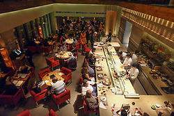 Interior of Zuma Japanese restaurant at DIFC in Dubai united Arab Emirates