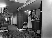 10/10/1960<br /> 10/10/1960<br /> 10 October 1960<br /> Views of Hotel Pierre in Dun Laoghaire, Dublin. The reception.