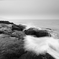 Seascape at hariharshwar, the rocks here are amaZing !