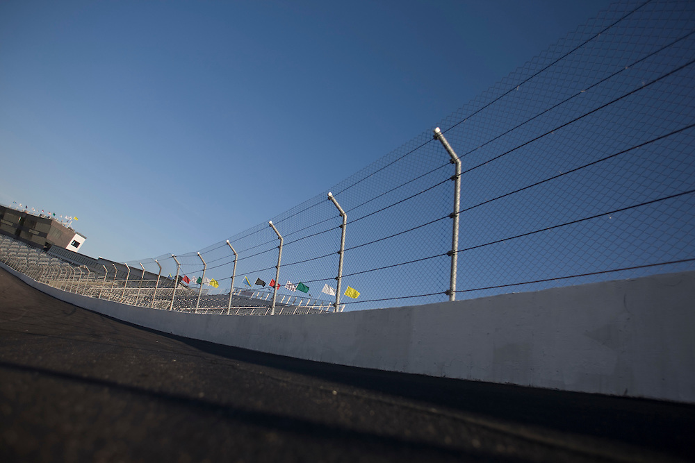 Turn four at Rockingham Speedway.