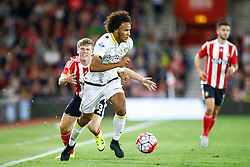 Isaiah Brown of Vitesse Arnhem in action - Mandatory by-line: Jason Brown/JMP - Mobile 07966386802 - 31/07/2015 - SPORT - FOOTBALL - Southampton, St Mary's Stadium - Southampton v Vitesse Arnhem - Europa League