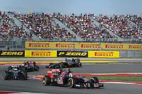 Daniil Kvyat (RUS) Scuderia Toro Rosso STR9.<br /> United States Grand Prix, Sunday 2nd November 2014. Circuit of the Americas, Austin, Texas, USA.