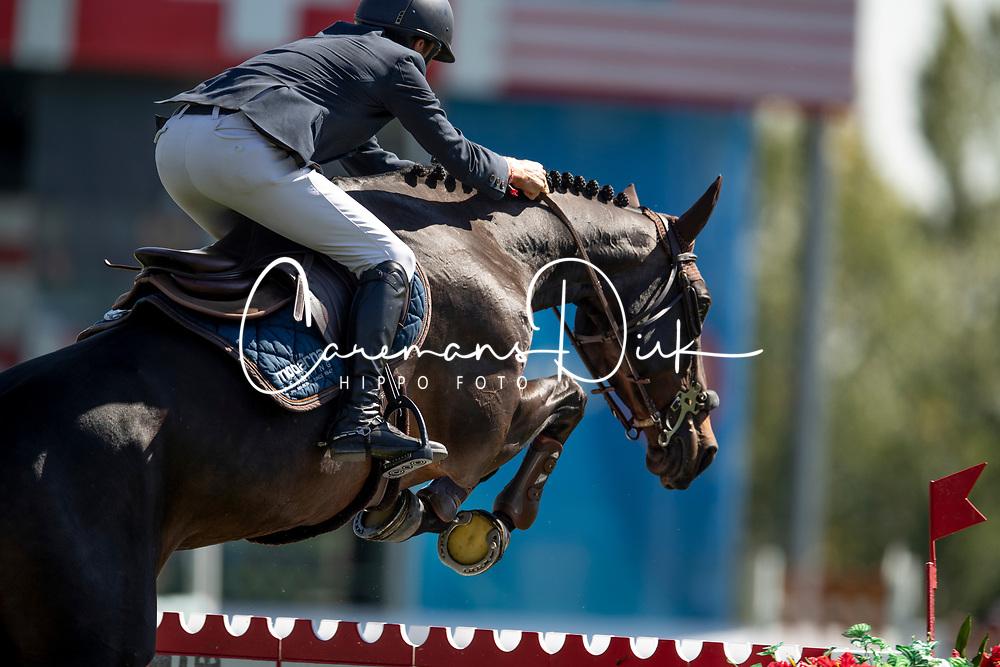 Vermeir Wilm, BEL, IQ van het Steentje<br /> Spruce Meadows Masters - Calgary<br /> © Hippo Foto - Dirk Caremans<br /> 06/09/2018