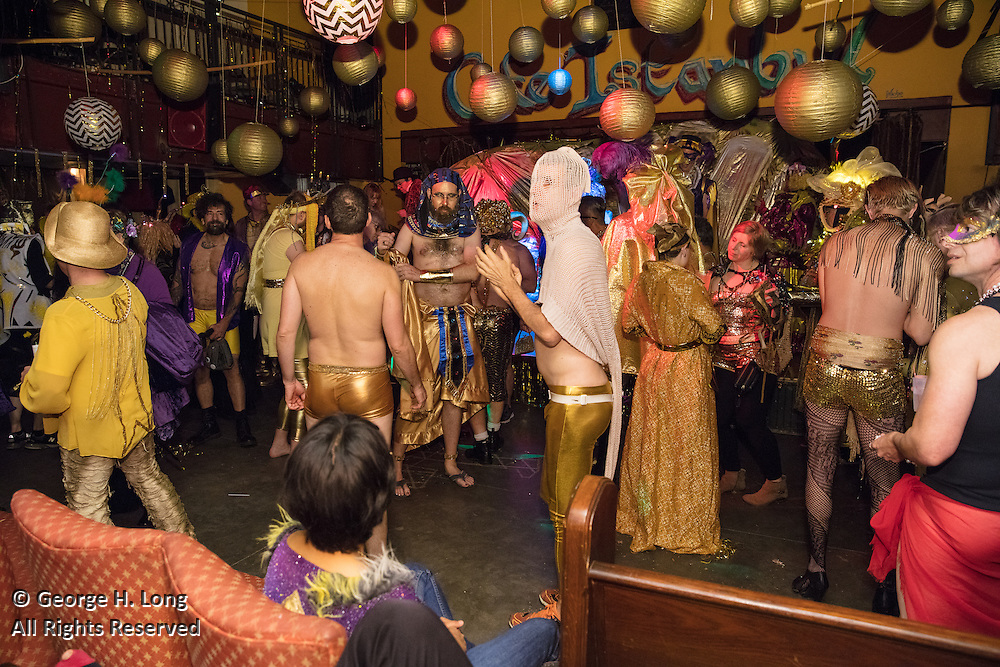 Radical Faeries St. Brigid Ball at Cafe Istanbul on February 2, 2017