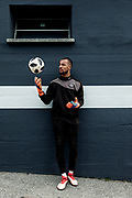Lugano, the Lugano FC J goal keeper Joel Kiassumbua
