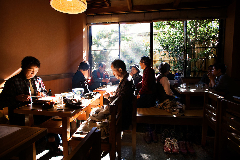 Japan, Kanazawa.<br />