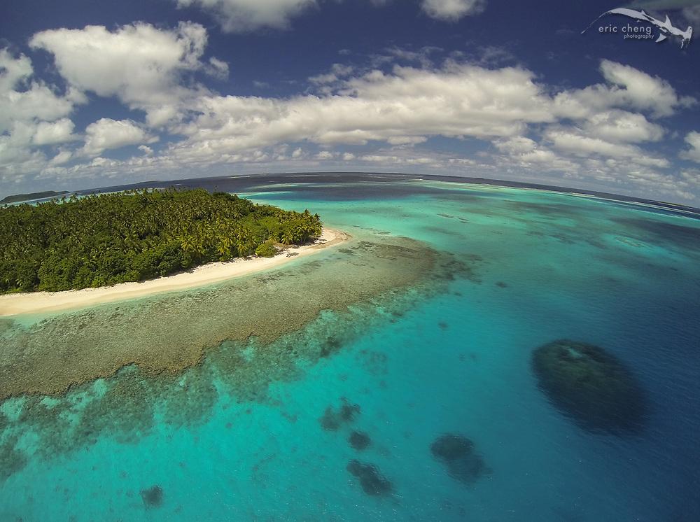 #aerial #quadcopter footage of 'Ovalau island, Vava'u, Tonga