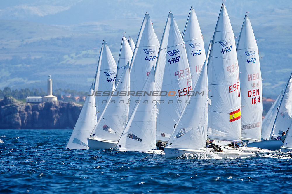 CIUDAD DE SANTANDER Trophy, Isaf sailing World Championships test event. Day 5