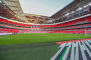 Wembley Stadium ahead of the the UEFA European 2016 Qualifier match between England and Estonia at Wembley Stadium, London, England on 9 October 2015. Photo by Shane Healey.