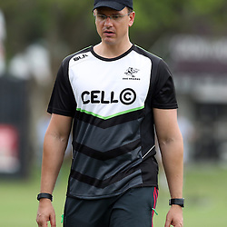 DURBAN, SOUTH AFRICA - DECEMBER 06: Pieter Kruger during the Cell C Sharks training session at Growthpoint Kings Park on December 06, 2016 in Durban, South Africa. (Photo by Steve Haag/Gallo Images)